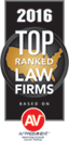 Top Ranked Law Firms AV Preeminent